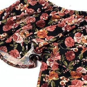 loralette Tops - Women's Size L/XL Floral Print Bodysuit 1 Piece
